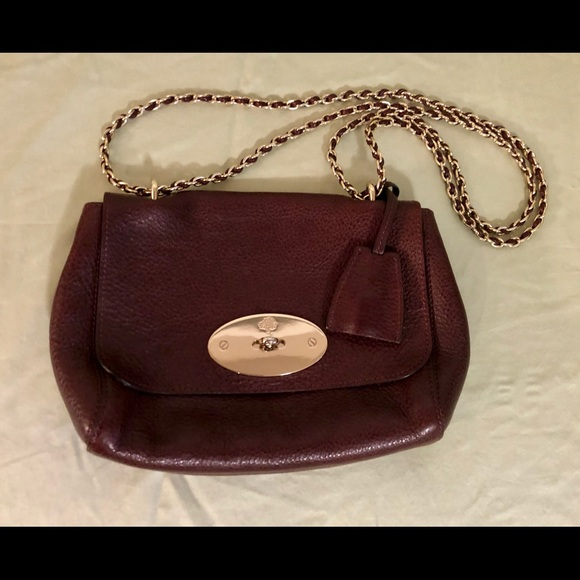 393863a33ac0 Mulberry Lily Oxblood Natural Grain Leather Bag. M 5b593529baebf68897a6cdb8